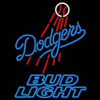 Bud Light Los Angeles Dodgers MLB Beer Sign Neon Sign