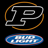 Bud Light Purdue Logo University Boilermakers Helmet Beer Sign Neon Sign