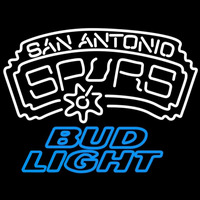Bud Light San Antonio Spurs NBA Beer Sign Neon Sign