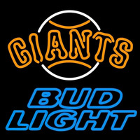 Bud Light San Francisco Giants MLB Beer Sign Neon Sign