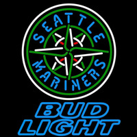 Bud Light Seattle Mariners MLB Beer Sign Neon Sign