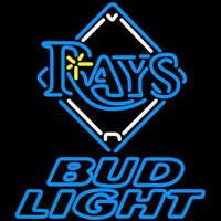 Bud Light Tampa Bay Rays MLB Beer Sign Neon Sign