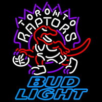 Bud Light Toronto Raptors NBA Beer Sign Neon Sign
