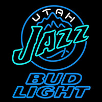 Bud Light Utah Jazz NBA Beer Sign Neon Sign