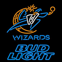 Bud Light Washington Wizards NBA Beer Sign Neon Sign