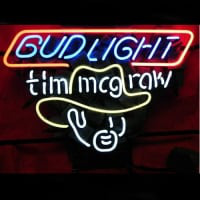 Bud Tim Mcgraw Neon Sign