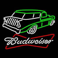 Budweiser 57 Chevy Neon Sign