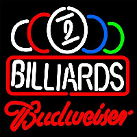 Budweiser Ball Billiards Te t Pool Beer Sign Neon Sign