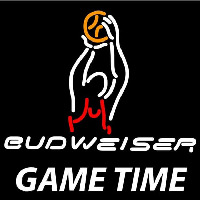 Budweiser Basketball Gametime Beer Sign Neon Sign