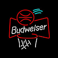 Budweiser Basketball Neon Sign