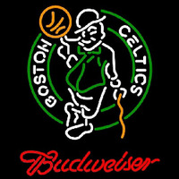 Budweiser Boston Celtics NBA Beer Sign Neon Sign