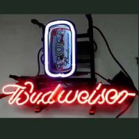 Budweiser Can Neon Sign