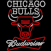 Budweiser Chicago Bulls NBA Beer Sign Neon Sign