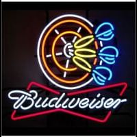 Budweiser Darts Hand crafted Neon Sign