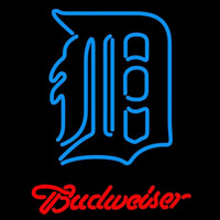 Budweiser Detroit Tigers MLB Beer Sign Neon Sign