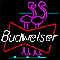 Budweiser Flamingo Neon Sign