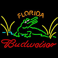 Budweiser Florida Gators Beer Sign Neon Sign