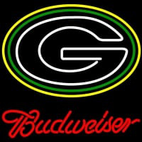 Budweiser Green Bay Packers NFL Neon Sign x Neon Sign