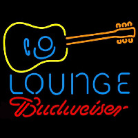 Budweiser Guitar Lounge Beer Sign Neon Sign