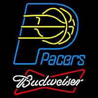 Budweiser Indiana Pacers NBA Beer Sign Neon Sign