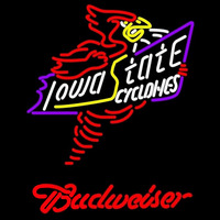 Budweiser Killer Iowa State Cyclones Beer Sign Neon Sign