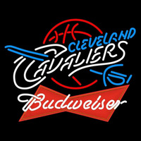 Budweiser Logo Cleveland Cavaliers NBA Beer Sign Neon Sign