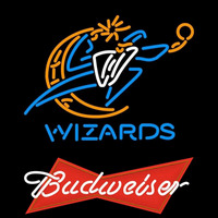 Budweiser Logo Washington Wizards NBA Beer Sign Neon Sign