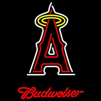 Budweiser Los Angeles Angels of Anaheim MLB Beer Sign Neon Sign