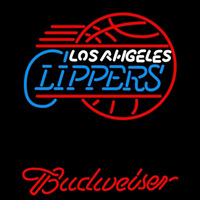 Budweiser Los Angeles Clippers NBA Beer Sign Neon Sign