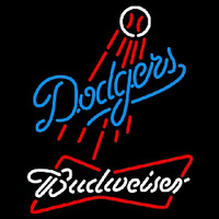 Budweiser Los Angeles Dodgers MLB Beer Sign Neon Sign