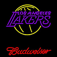 Budweiser Los Angeles Lakers NBA Beer Sign Neon Sign
