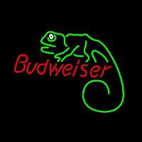 Budweiser Louie Lizard Neon Sign