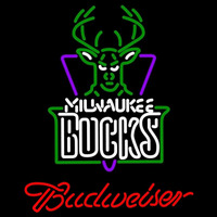 Budweiser Milwaukee Bucks NBA Beer Sign Neon Sign