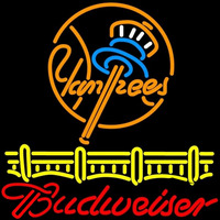 Budweiser New York Yankees Beer Sign Neon Sign