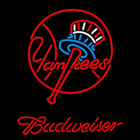 Budweiser New York Yankees MLB Beer Sign Neon Sign