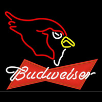 Budweiser Red Arizona Cardinals NFL Neon Sign Neon Sign