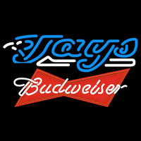 Budweiser Red Toronto Blue Jays MLB Beer Sign Neon Sign