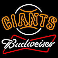 Budweiser San Francisco Giants MLB Beer Sign Neon Sign