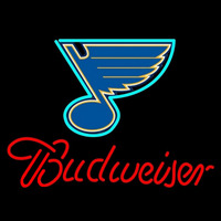 Budweiser St Louis Blues Neon Sign Neon Sign