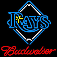 Budweiser Tampa Bay Rays MLB Beer Sign Neon Sign