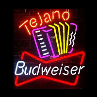 Budweiser Tejano Handcrafted Beer bar Neon Sign