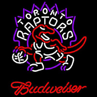 Budweiser Toronto Raptors NBA Beer Sign Neon Sign