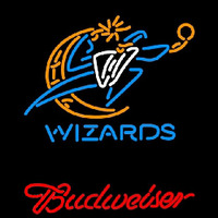 Budweiser Washington Wizards NBA Beer Sign Neon Sign