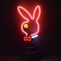 Bunny Head Desktop Neon Sign
