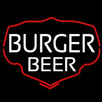 Burger Beer Neon Sign