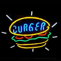 Burger Neon Sign