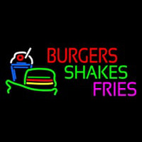 Burgers Shakes Fries Neon Sign