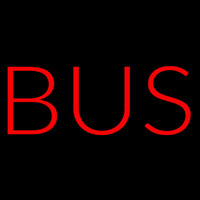 Bus Red Neon Sign