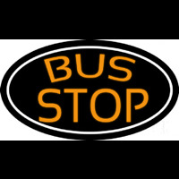 Bus Stop Neon Sign