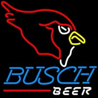 Busch Beer Arizona Cardinals NFL Neon Sign  x Neon Sign